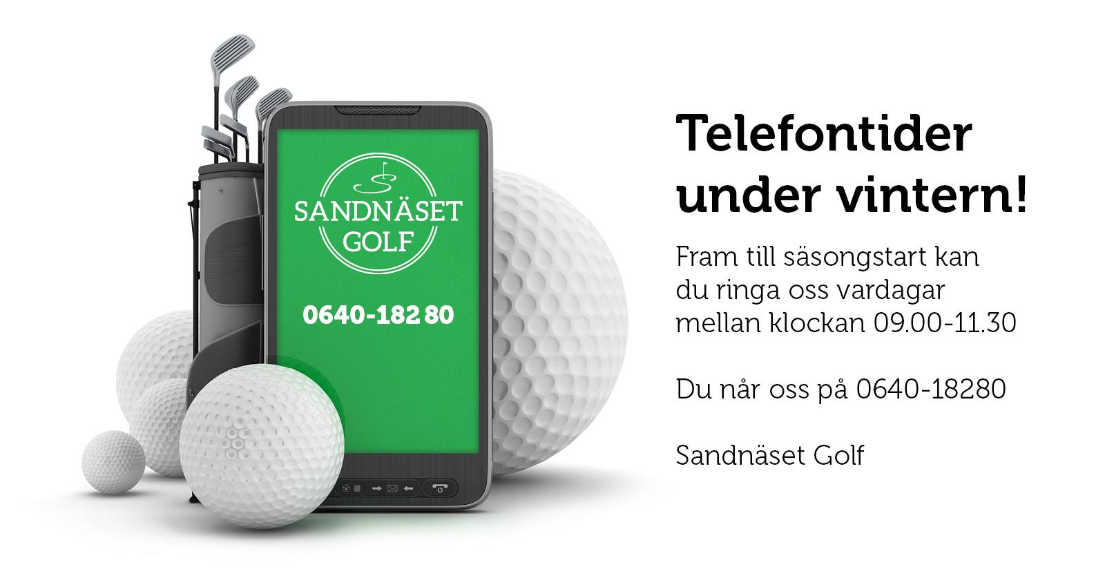 Du kan ringa oss mellan 09.00-11.30 i vinter
