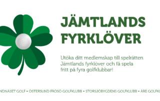Jämtlands fyrklöver med fritt spel på fyra banor